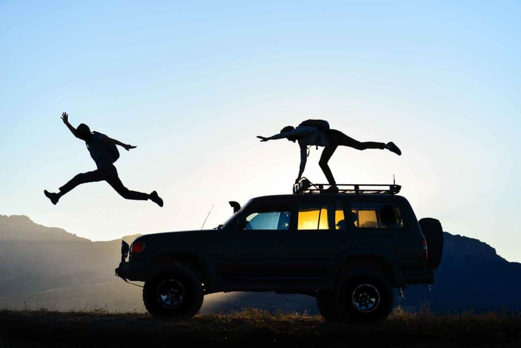 How to stay active and in shape while roadtripping
