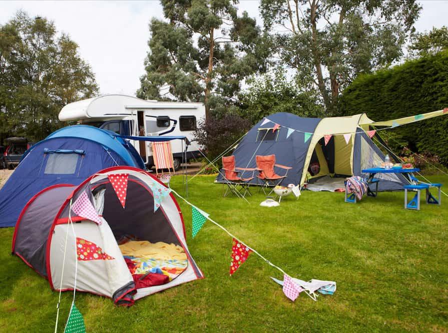 Hacks to make your campsite feel more like home sweet home