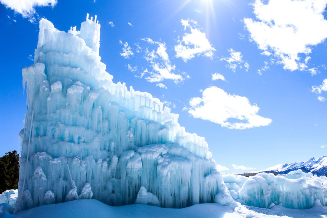 The Dillon Ice Castle.