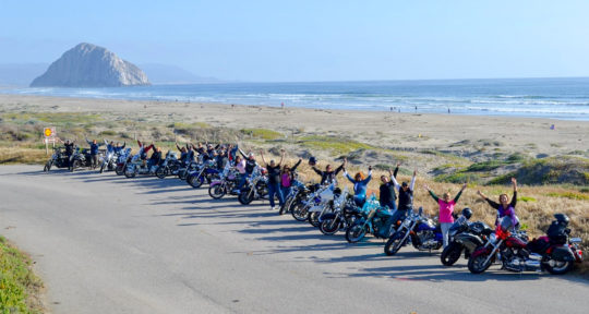 On International Female Ride Day, women across the world unite to ride motorcycles