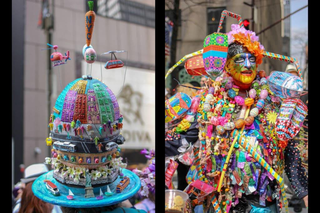 Easter bonnets along Fifth Avenue