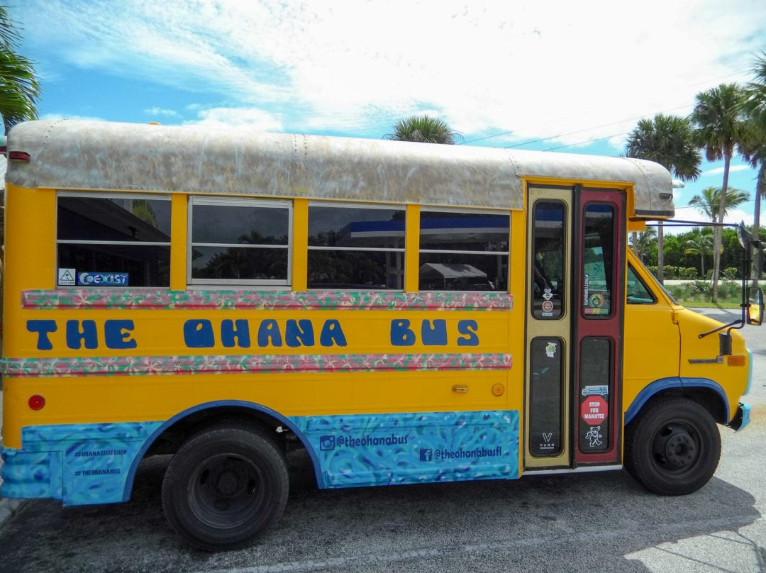 The Ohana Bus is perfect for guided, group, or eco-tours.