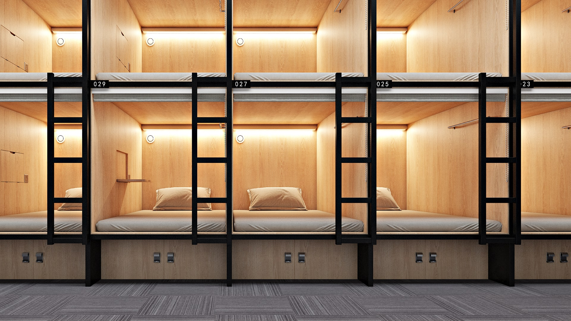 Road Trip Planner >> Are capsule hotels the future of budget travel in North ...