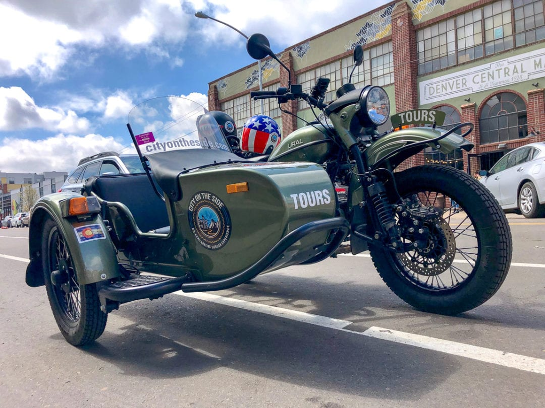 City on the Side offers motorcycle sidecar tours.