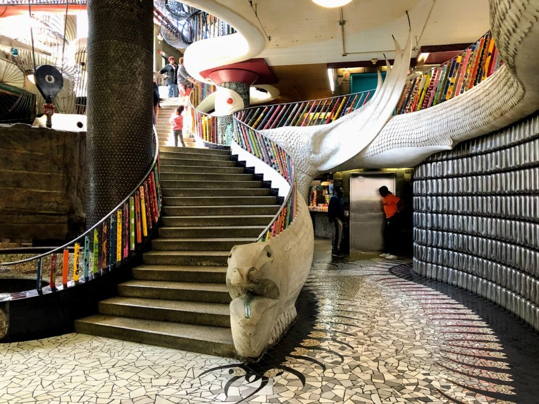 City Museum's main staircase