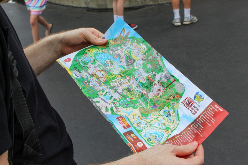 Map Of 6 Flags Great America.How An Amusement Park Expert Turned His Fear Of Roller Coasters Into