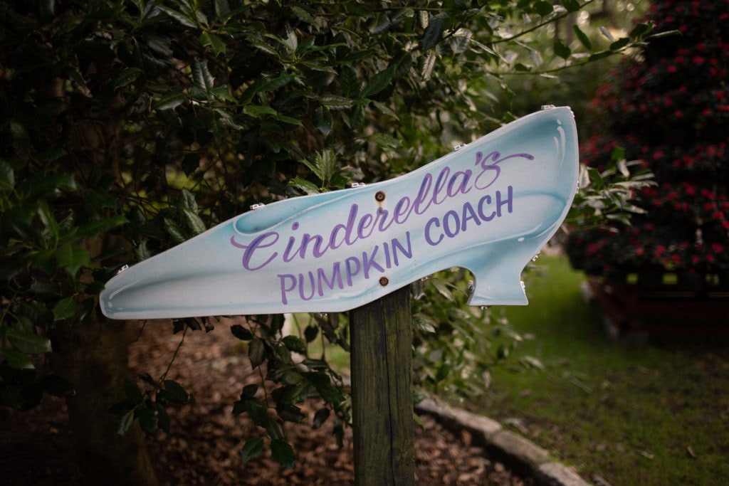 cinderella's slipper sign
