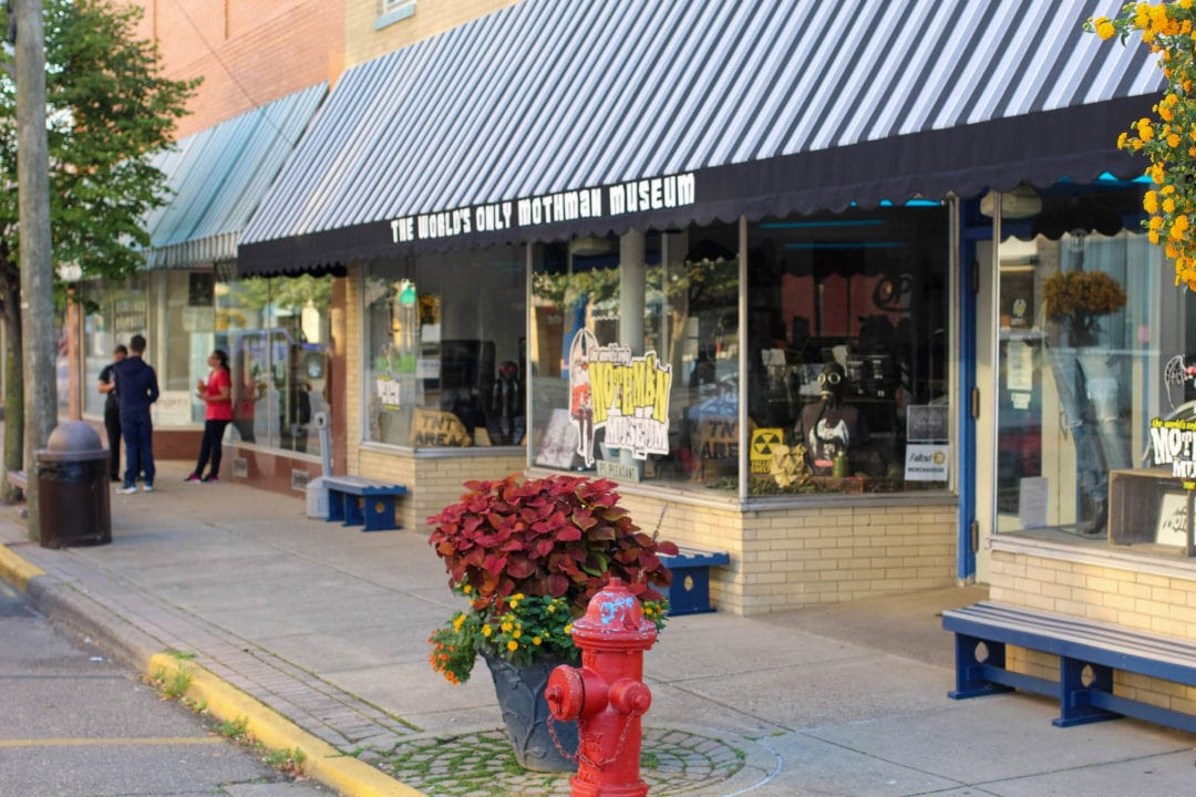Point Pleasant is the home of the world's only Mothman museum.