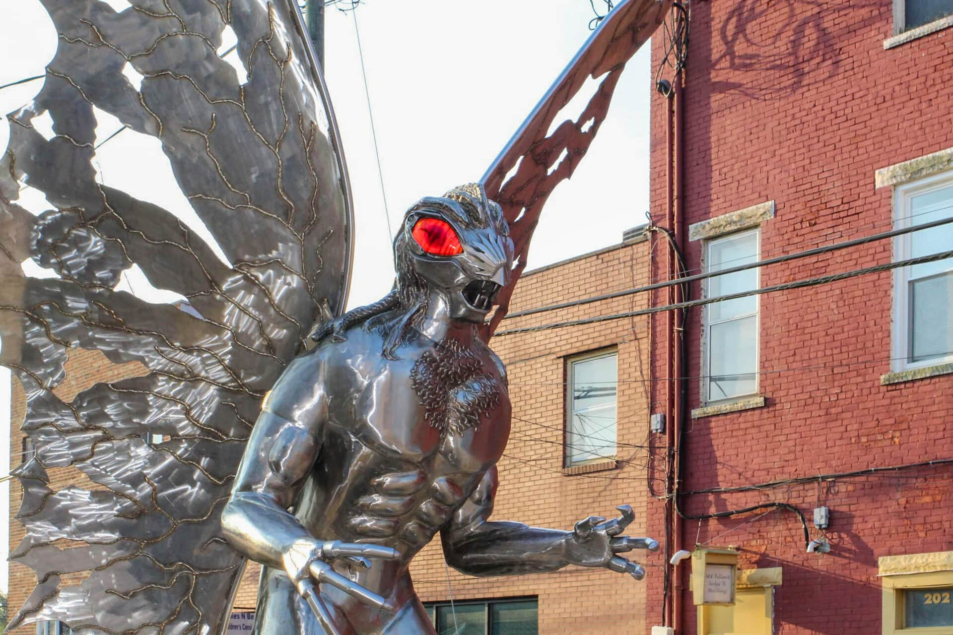 Road Trip Planner >> The Mothman cometh? I went searching for Point Pleasant's prophet of doom and all I got was a T ...