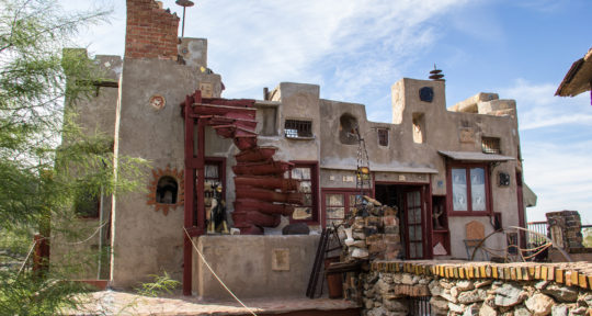 Trap doors and trinkets: The history behind the Mystery Castle, a whimsical sandcastle come to life in the Arizona desert