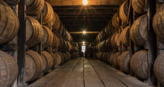 At Kentucky's oldest distilleries, spirits fill the bourbon barrels—and haunt the halls