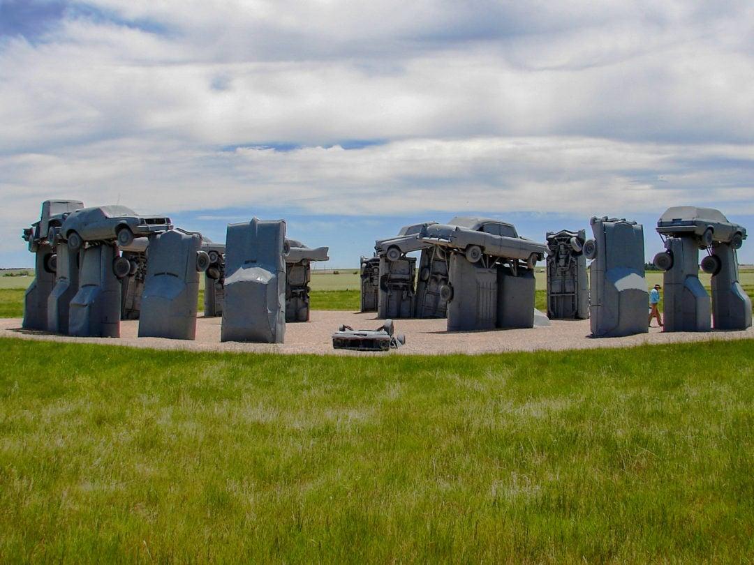 Carhenge is located in western Nebraska.