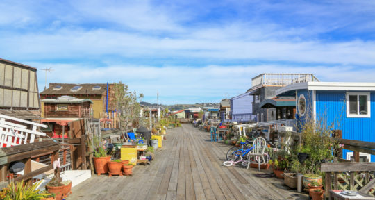 Living on the dock of the bay: The history behind Sausalito's quirky and colorful floating homes