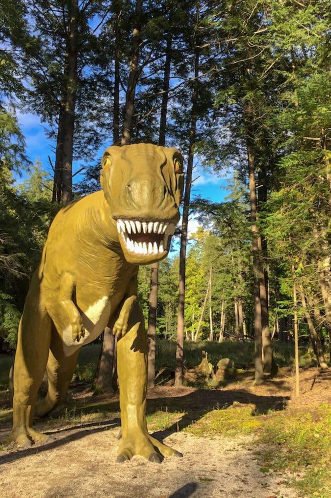 A T-Rex.