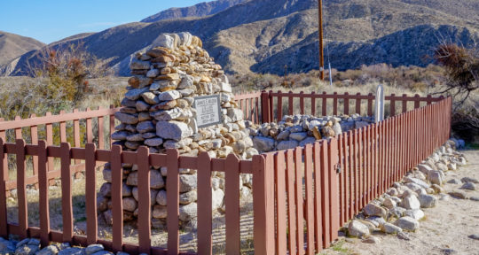 In Vallecito County Park, a historic former stage station is now a haunted desert campground