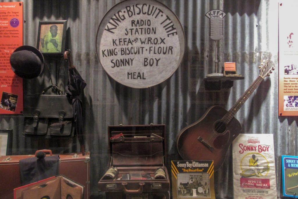 Sonny Boy Williams II memorabilia.