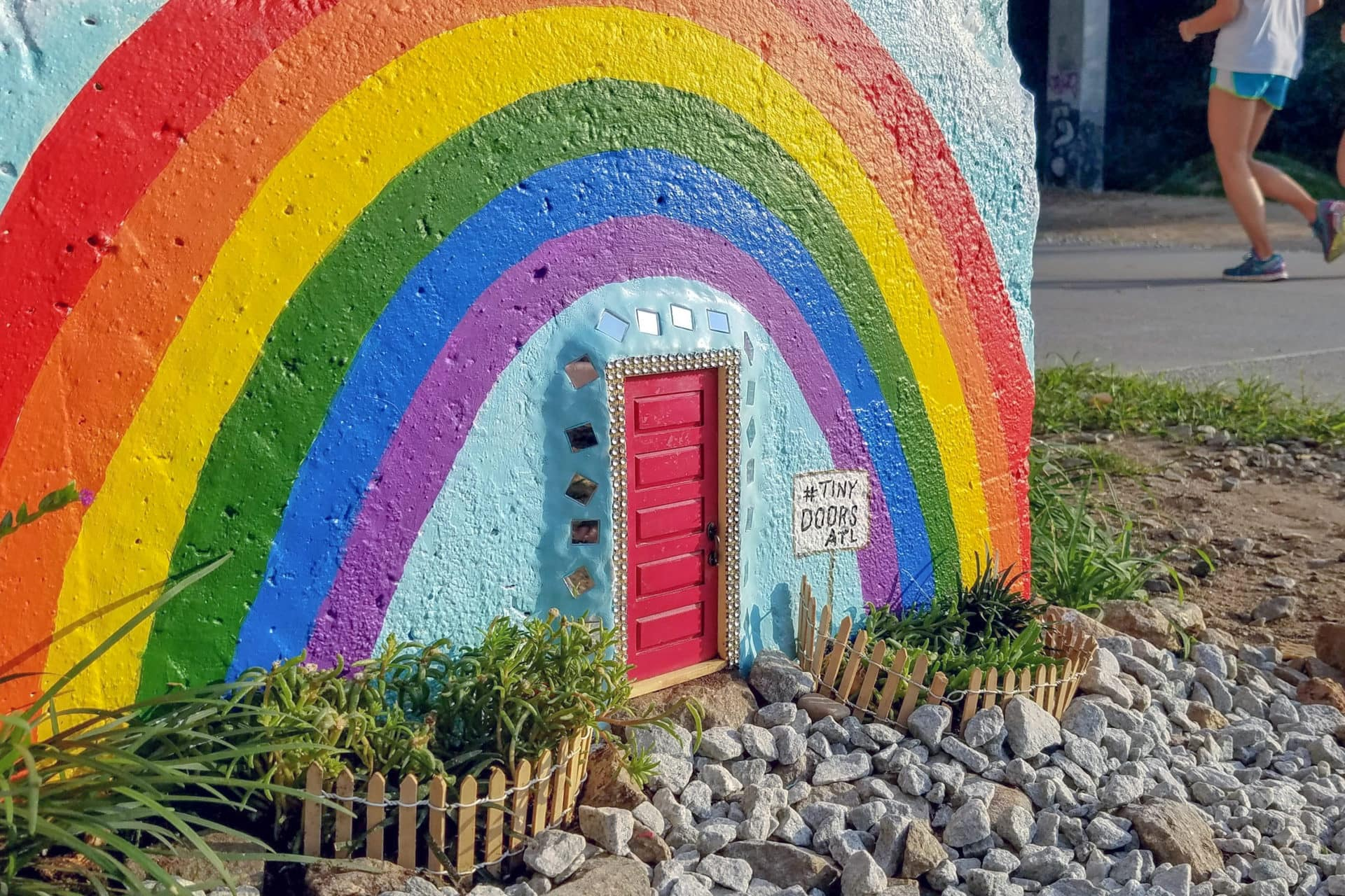 What's behind all those tiny doors in Atlanta? Their creator wants you to use your imagination | Roadtrippers