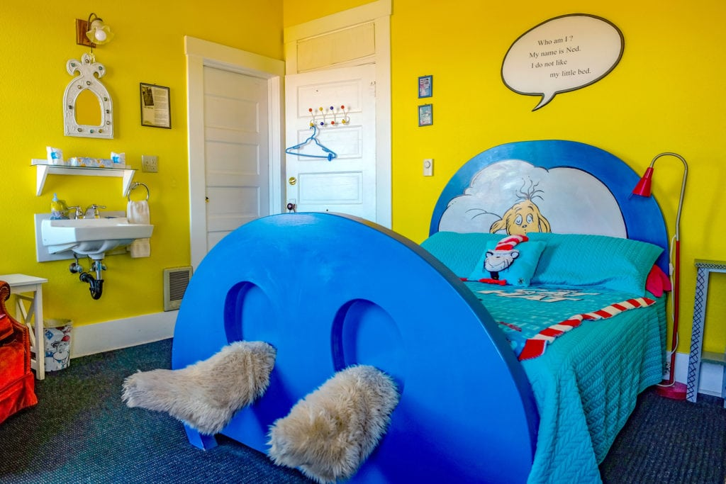 The Dr. Seuss room.