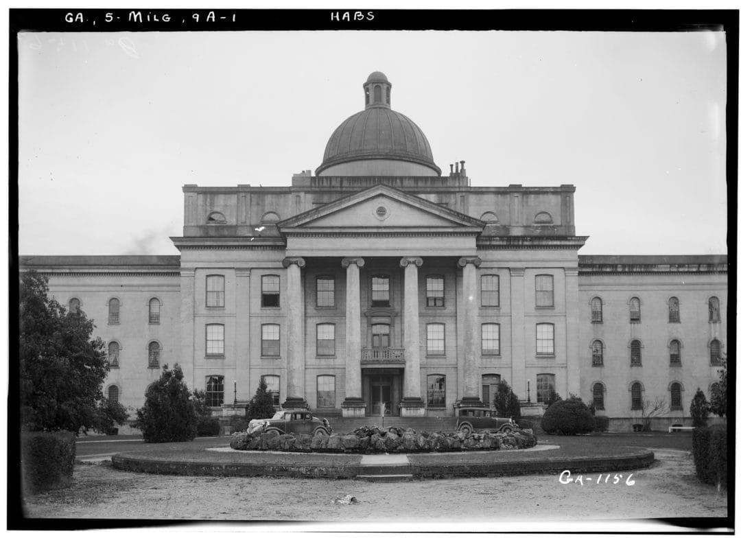 Milledgeville State Hospital, 1937.