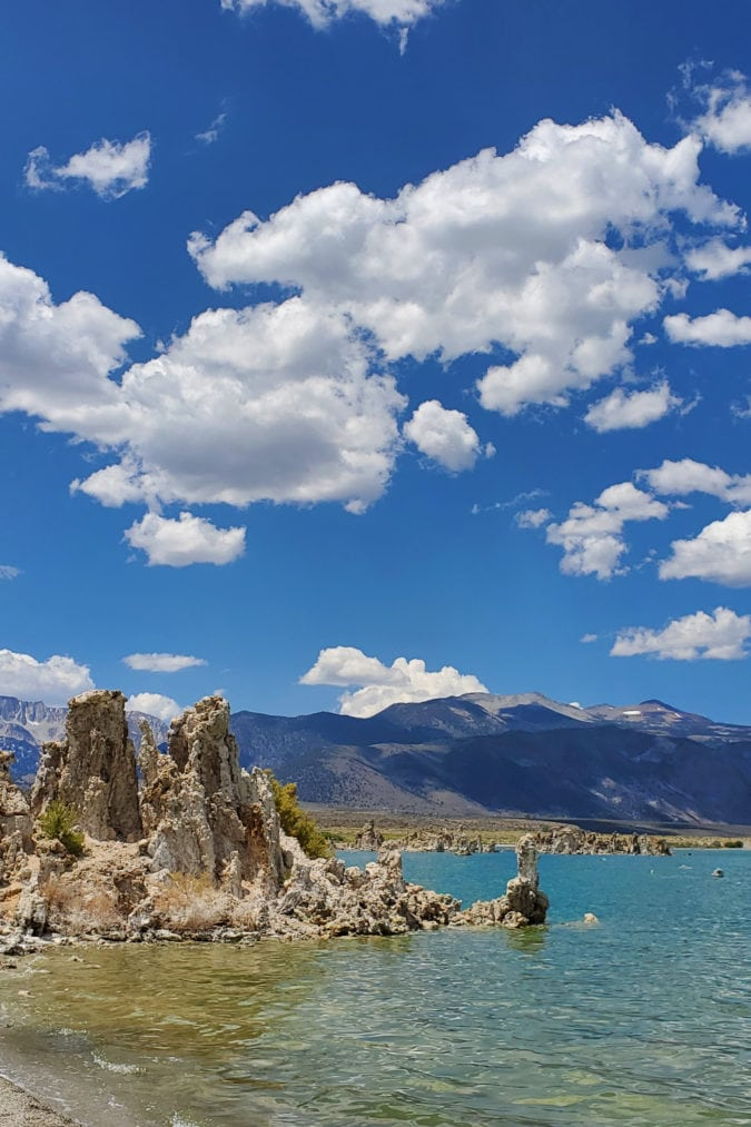 View of the tufas at the South Tufa Reserve