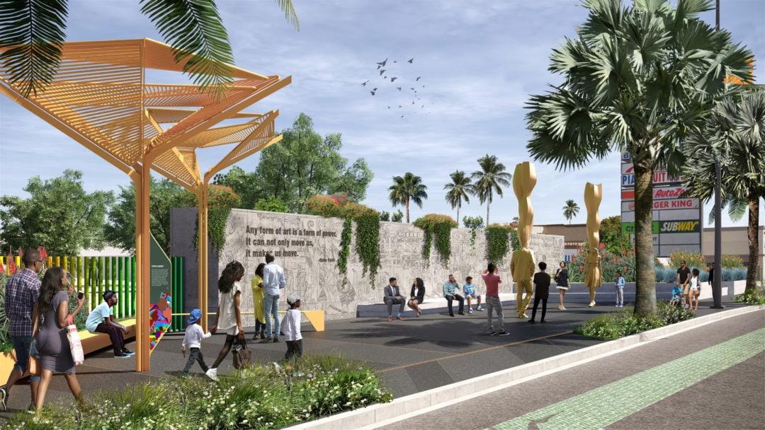 Welcome Park rendering.
