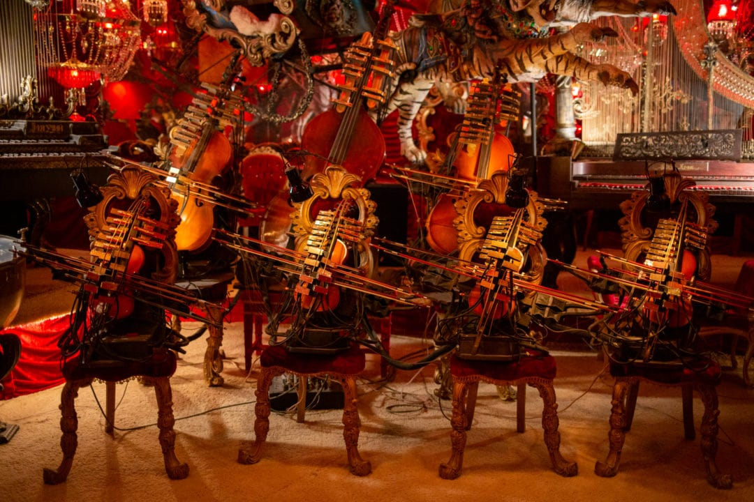 A mechanical orchestra.