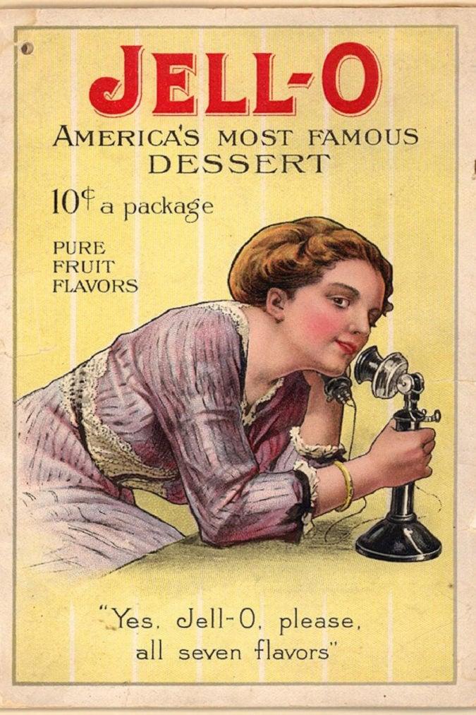 Vintage advertisement.