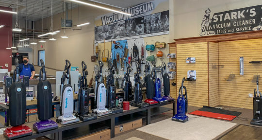 Spotless carpets and 100 years of history at Portland's only vacuum cleaner museum